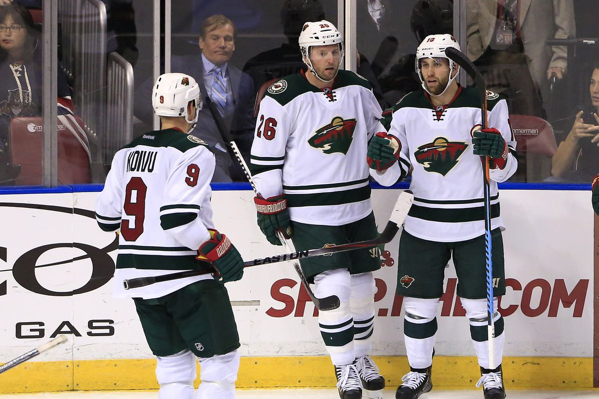 Mikko Koivu and Jason Zucker have both brought da ruckus offense, but they're shutting down opponents, too.