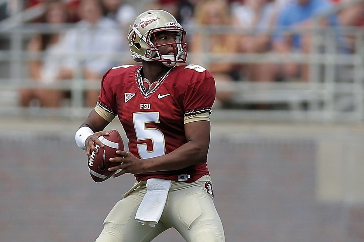 Florida State Quarterback Jameis Winston Should Lead His Team To The No. 1 Seed In The First Ever College Football Playoff.