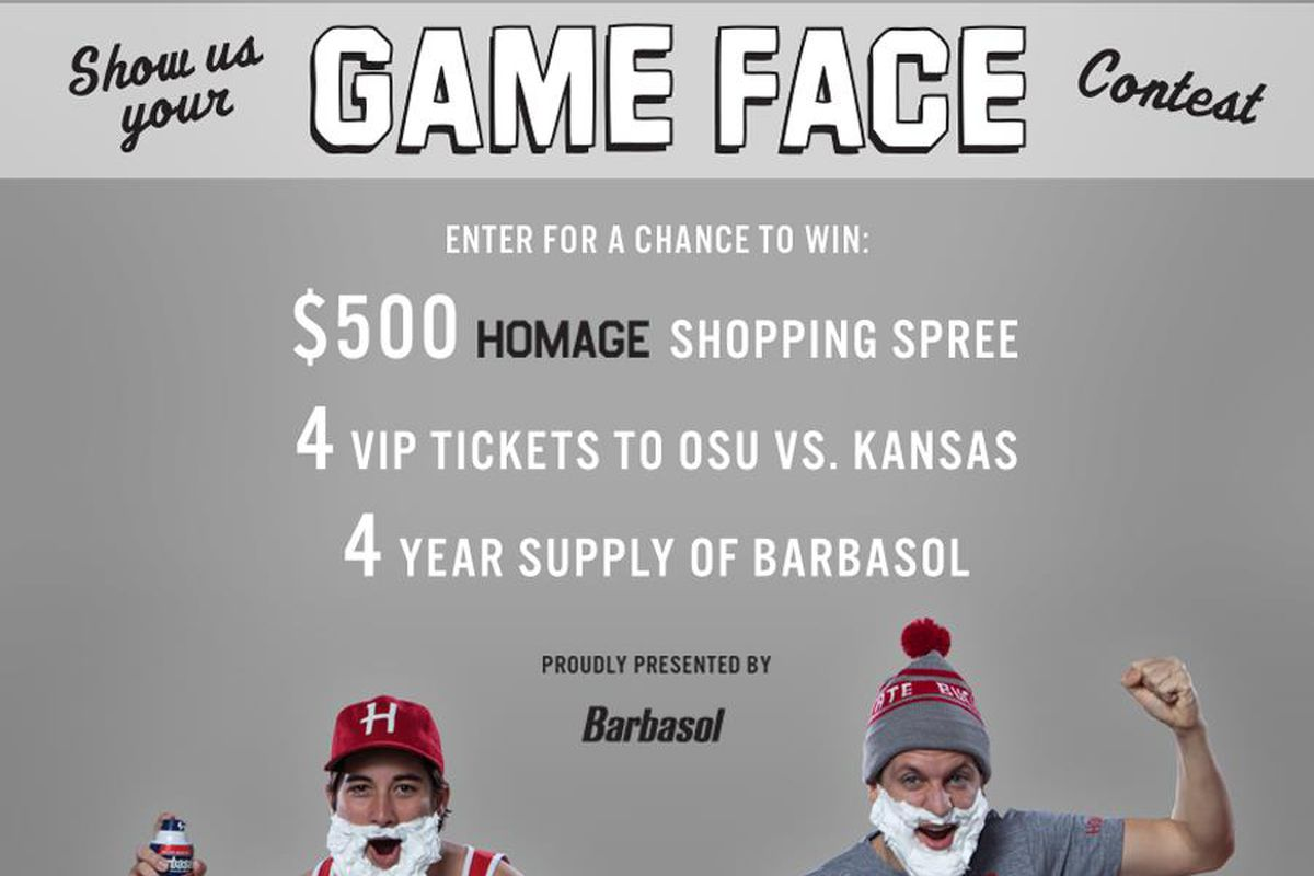 Win a $500 HOMAGE shopping spree just by showing HOMAGE your game face.