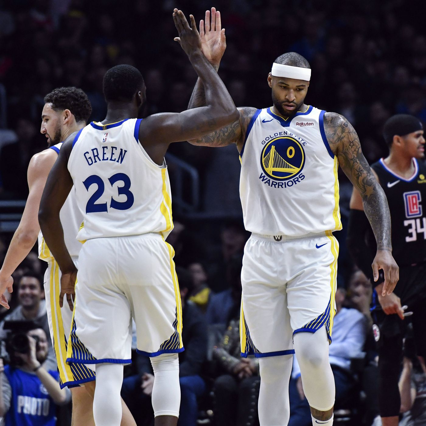 DeMarcus Cousins  Warriors debut reminded the other 29 NBA teams why  they re doomed 53c9d05c5