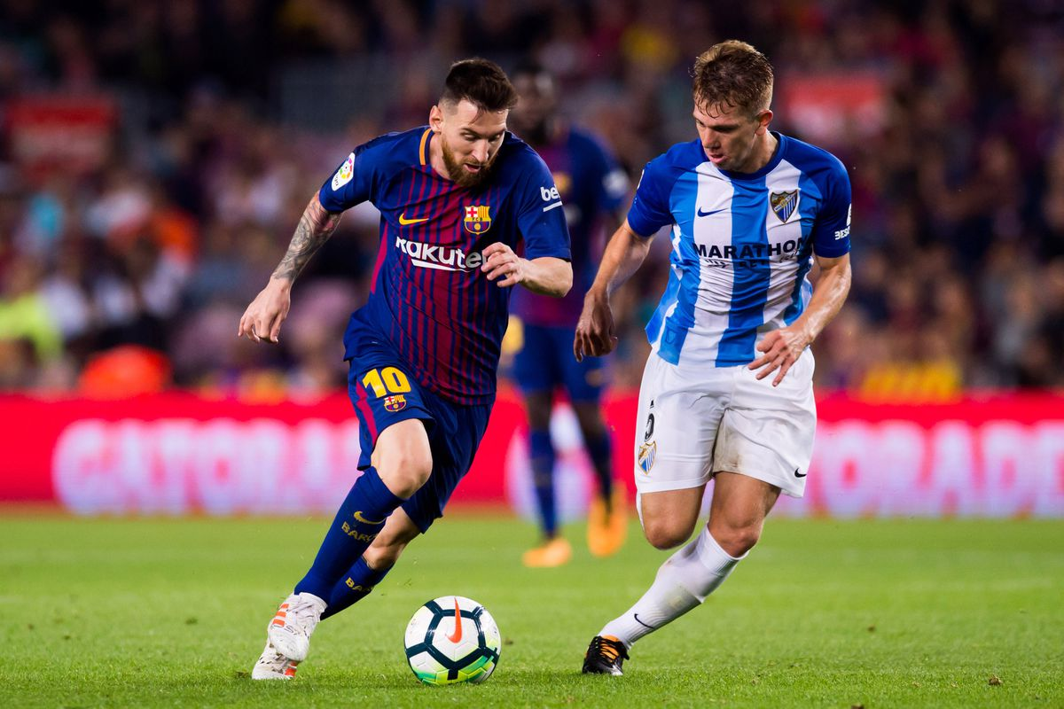Image result for Barcelona vs Málaga live