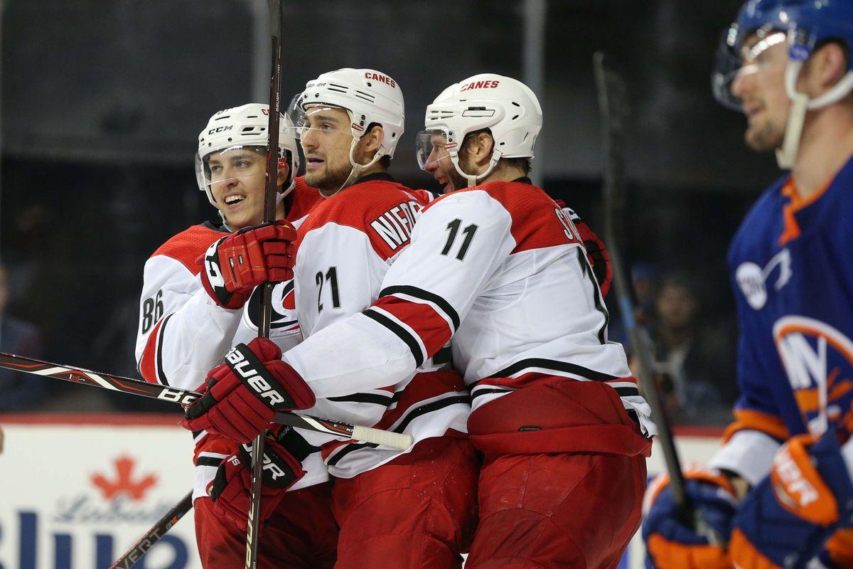 NHL: Stanley Cup Playoffs-Carolina Hurricanes at New York Islanders