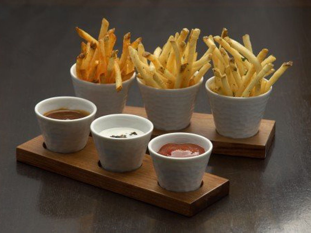 Duck fat fries at StripSteak