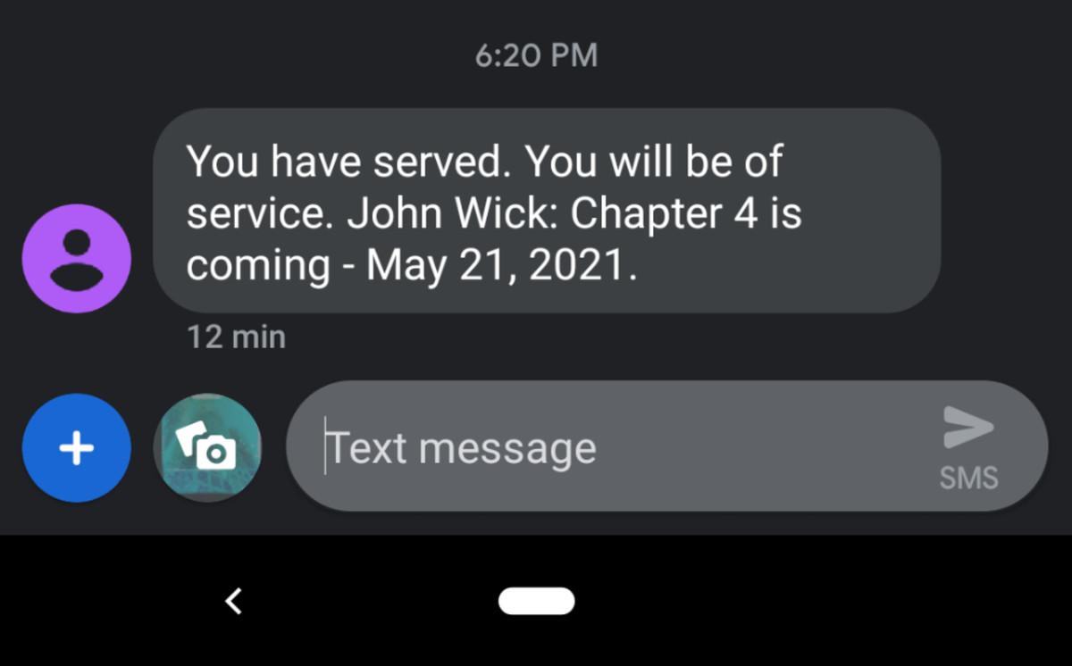 John Wick:第4章证实了2021年的发布