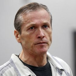 Martin MacNeill, a doctor accused of murdering his wife, appears in a Provo court on Oct. 10, 2012. On Monday, a judge declined to disqualify the Utah County Attorney's Office from prosecuting him.