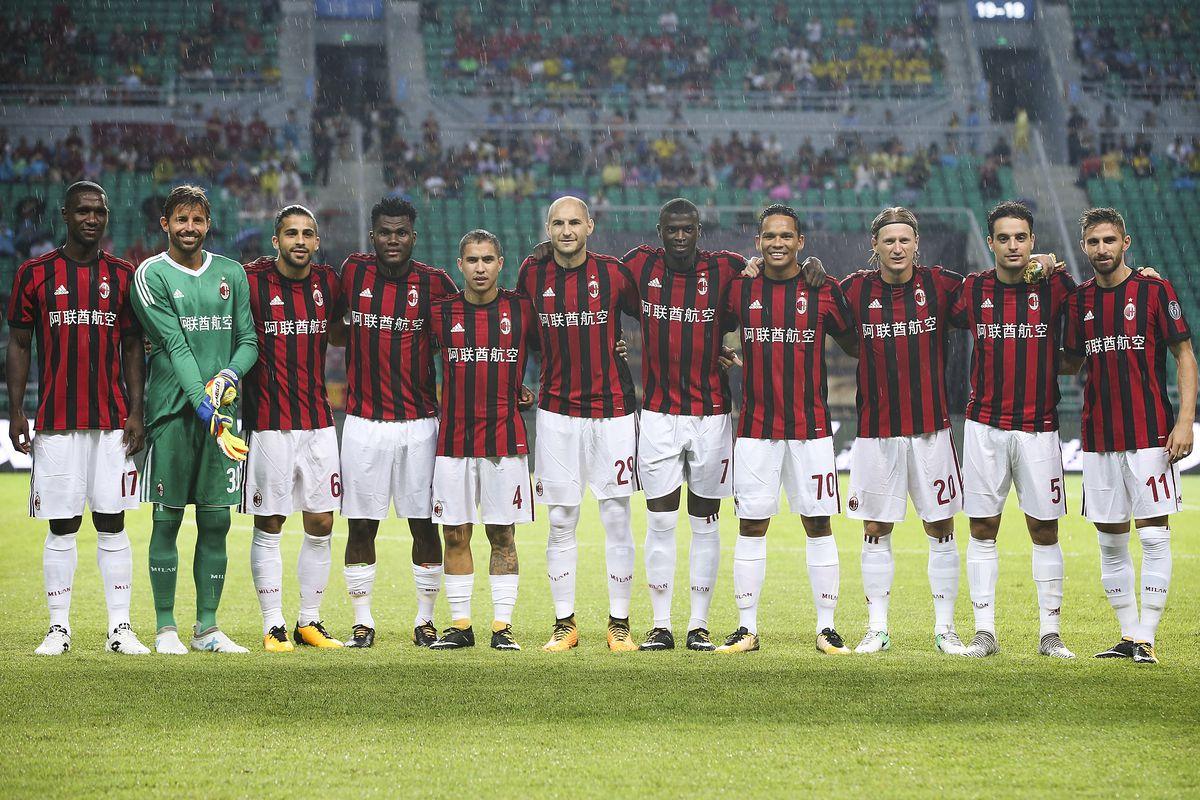 AC Milan v Borussia Dortmund - 2017 International Champions Cup China