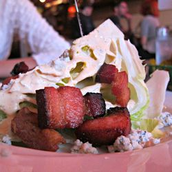 """Wedge Salad from Pork Slope by <a href=""""http://www.flickr.com/photos/scottlynchnyc/7819652980/in/pool-eater/"""">Scoboco</a>"""