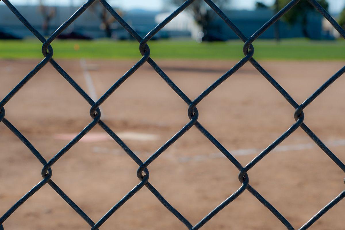 baseball diamond by John Liu
