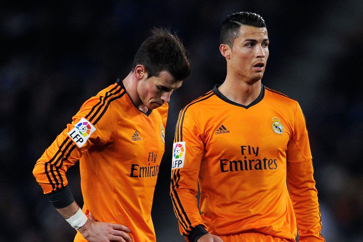 huge selection of dc4b9 ae22b Cristiano Ronaldo trains, but Gareth Bale has the flu ...