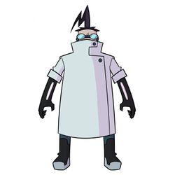 Professor Membrane in Enter the Florpus!