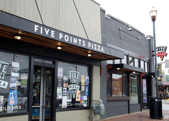 Website Five Points Pizza