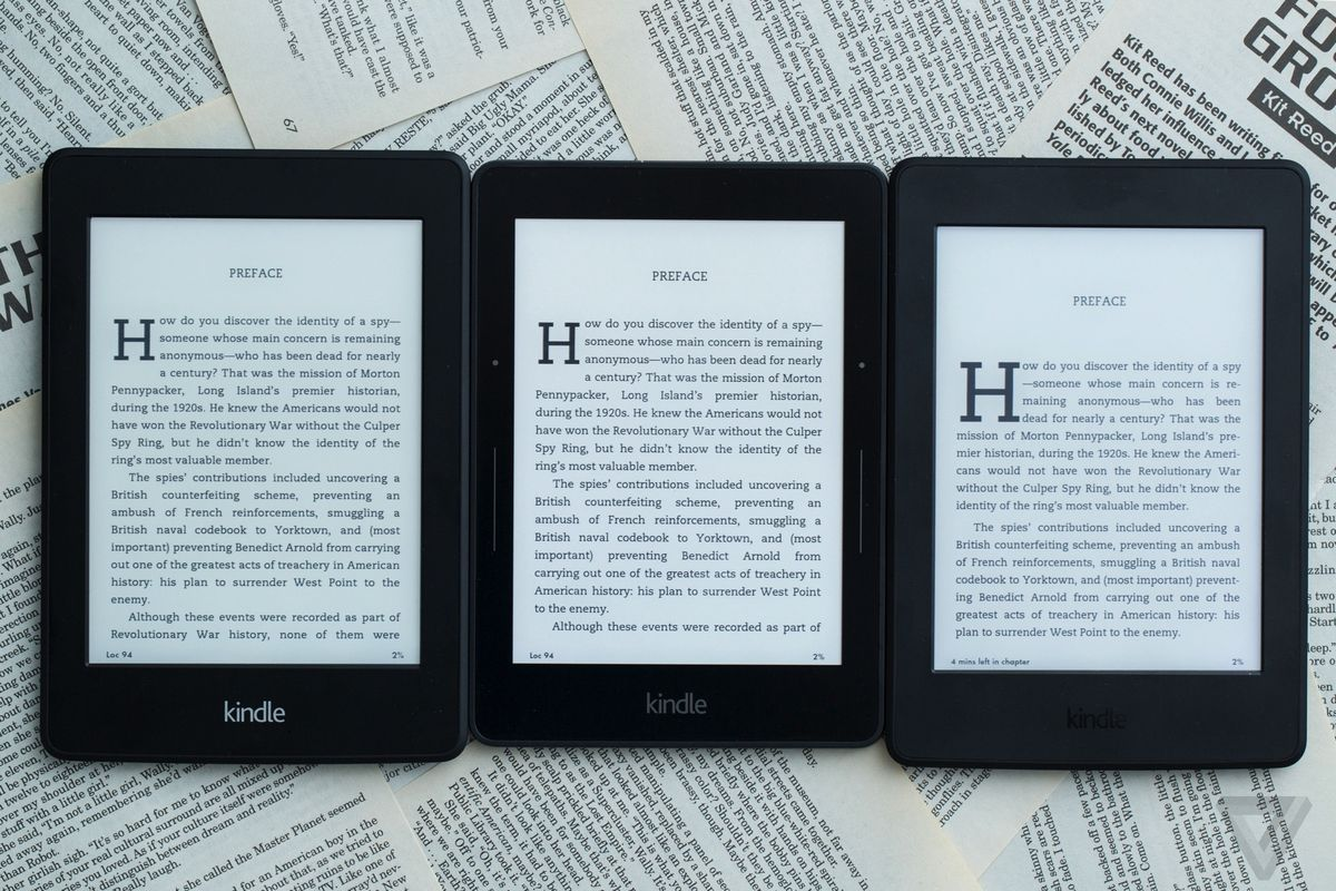 Amazon's Kindle e-readers are getting a big software update