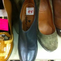 This size nine must have been miss-marked. As we went to find a sales associate, the shoe disappeared.