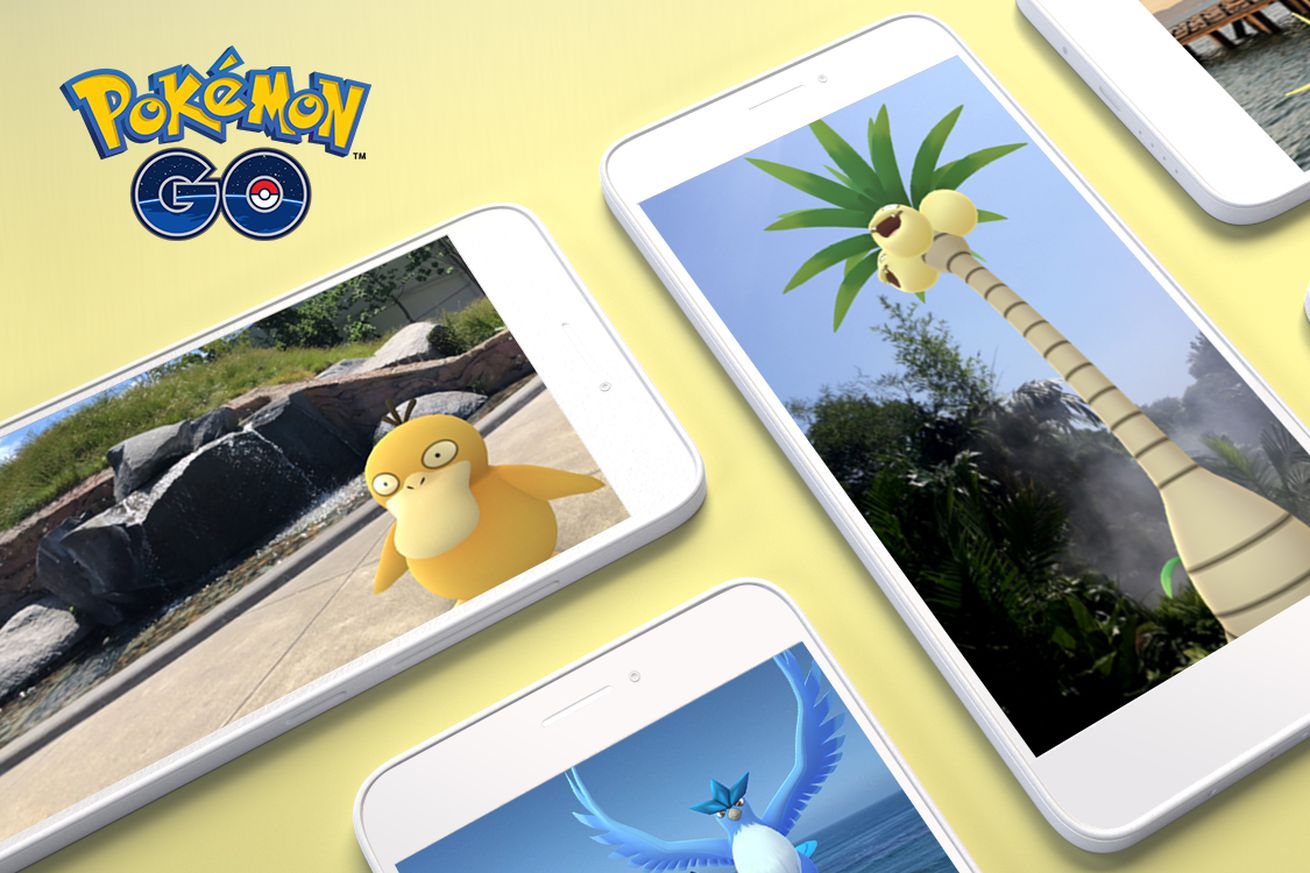 pokmon go gets an ar boost on android with arcore support
