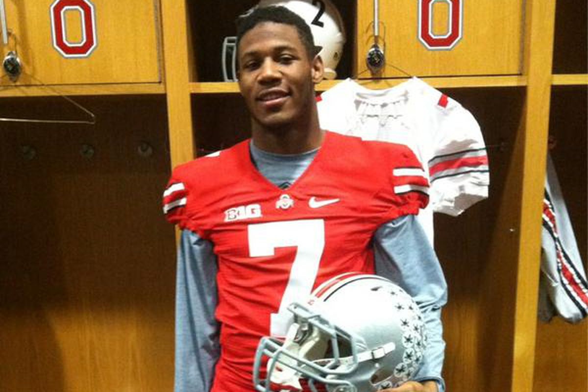 Vonn Bell in what could be his future uniform.