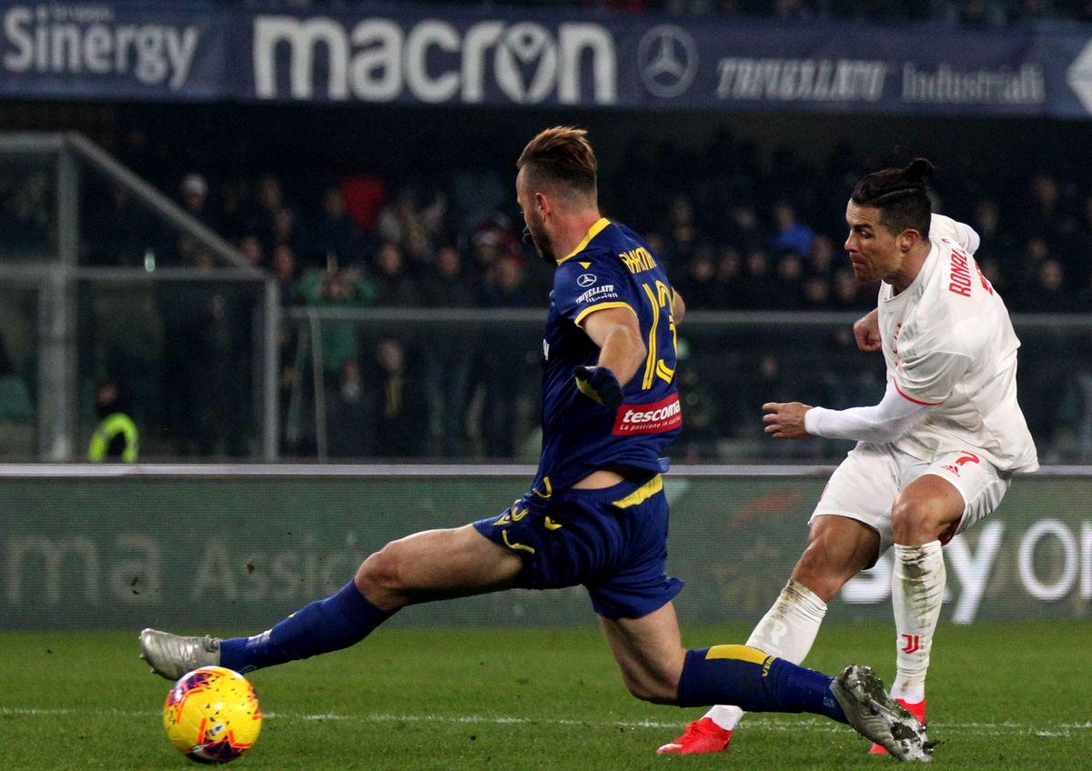 Juventus beat Verona; Inter, Lazio play draw, Roma held  |Juventus-verona