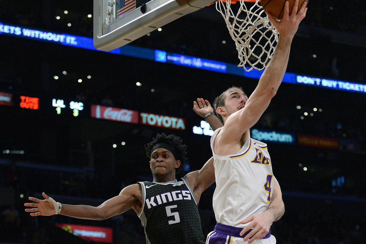aa5c1e5b807 The Lakers love how sneaky athletic Alex Caruso is - Silver Screen ...