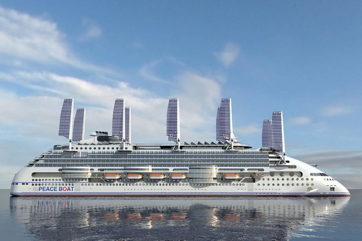 Worlds Most Ecofriendly Cruise Ship Will Have Retractable Solar - Cruise ship trouble