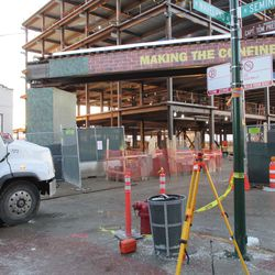 Another view of the excavation at Waveland & Seminary -