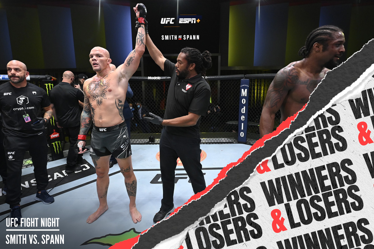 Anthony Smith came away with a big win at UFC Vegas 37.