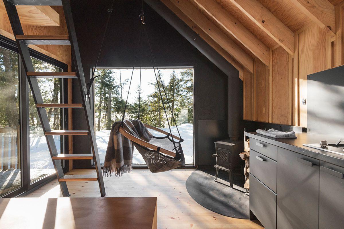 Modern Cabin In Canada Remi The A Frame Curbed