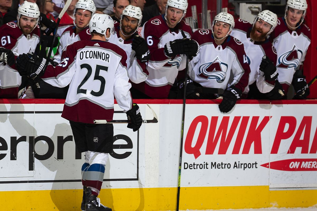 Colorado Avalanche v Detroit Red Wings