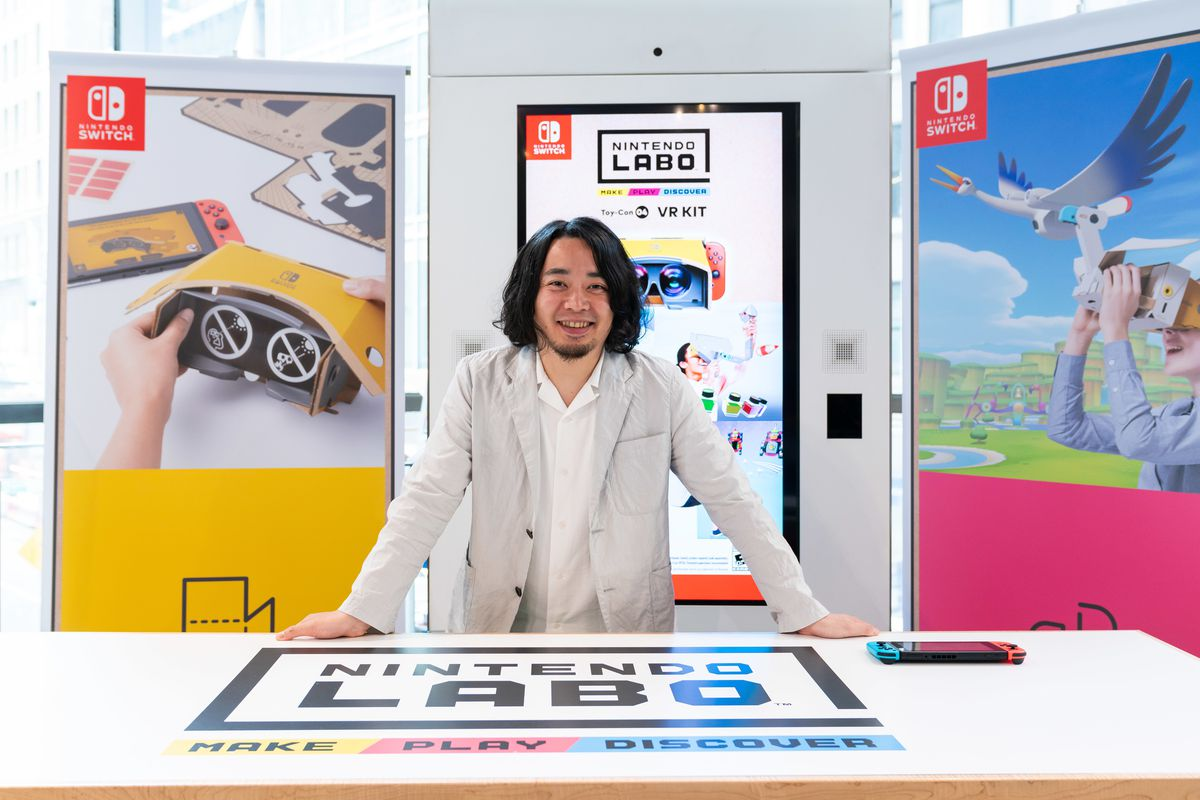 Nintendo Labo director says VR was part of the plan from the