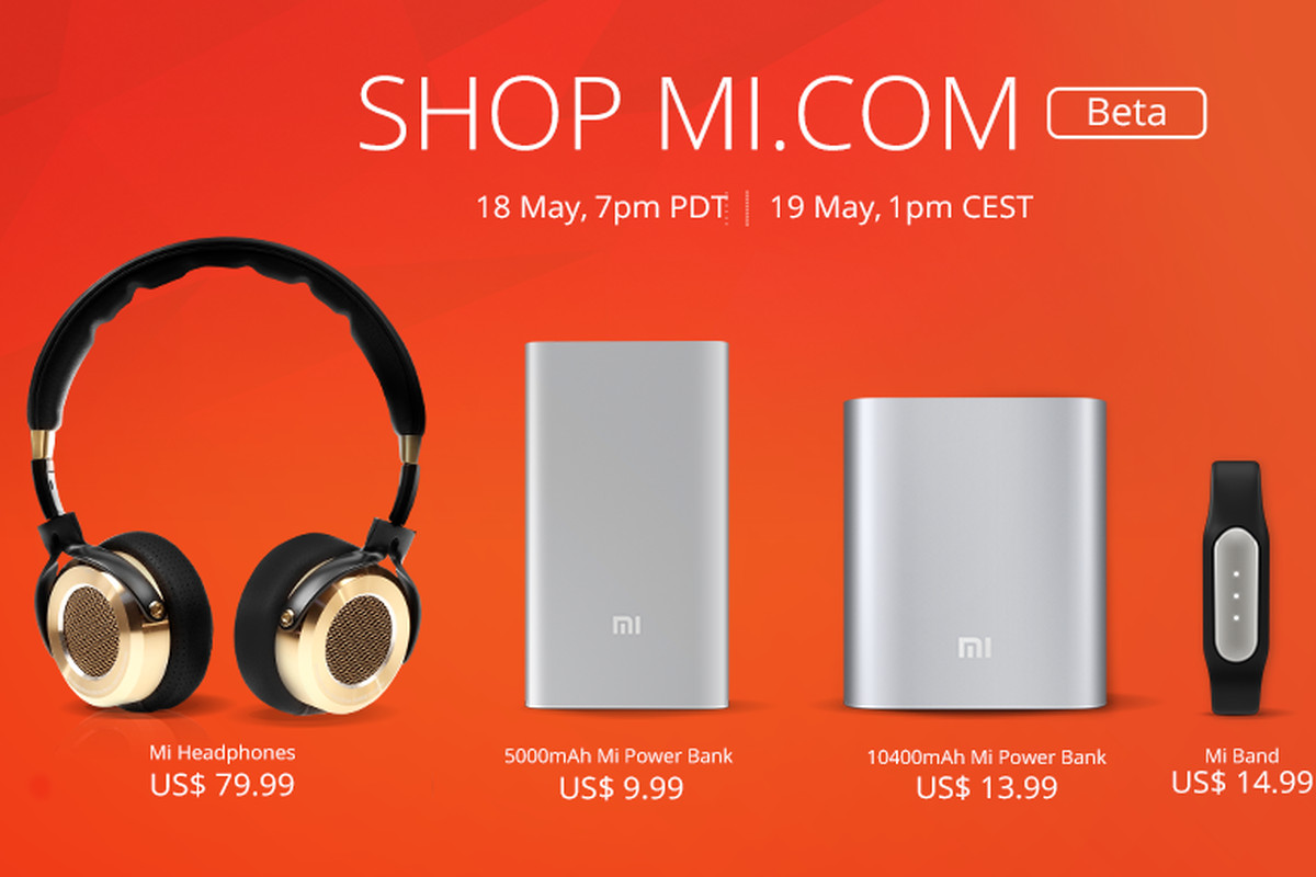 xiaomi starts selling accessories online in us and europe