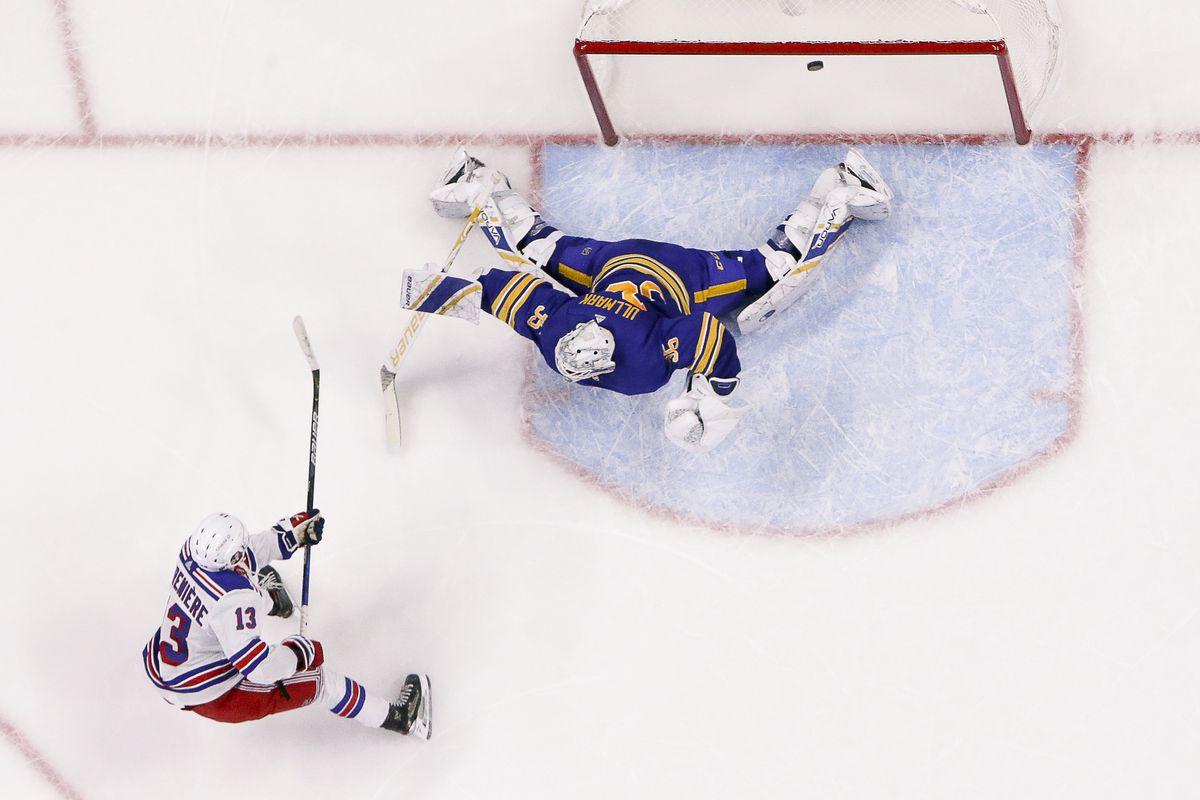 NHL: JAN 28 Rangers at Sabres