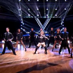"""Lindsey Stirling plays the violin while performing her freestyle number on """"Dancing With the Stars."""" Stirling will perform at the Eccles Theater on Dec. 12."""