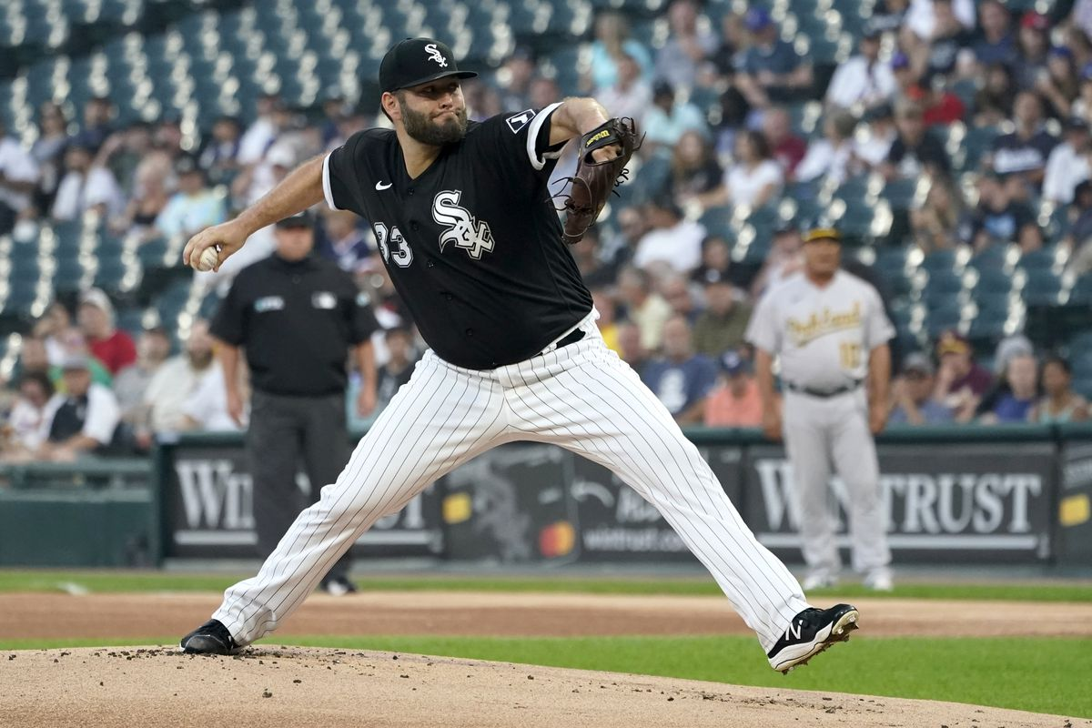 Lance Lynn will start Game 1 of the AL Division Series for the White Sox.