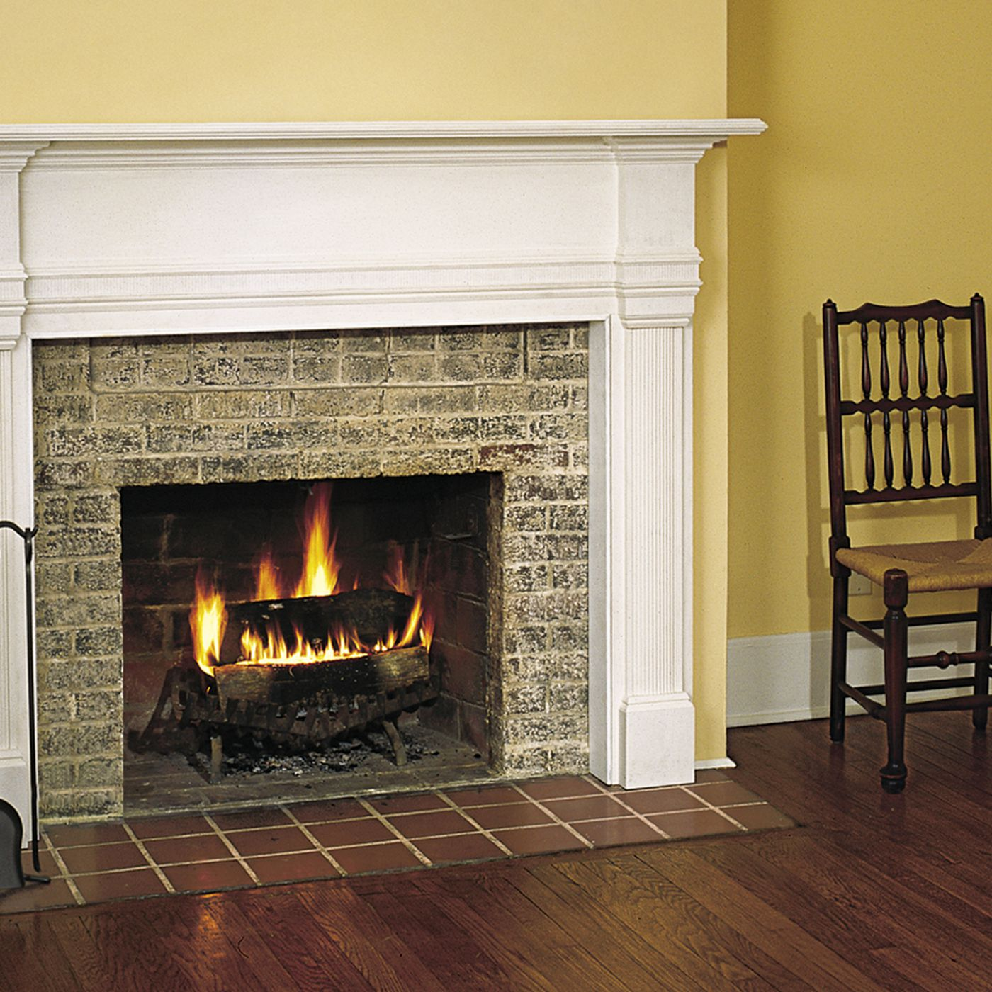 Fireplace Mantel Installation This Old House