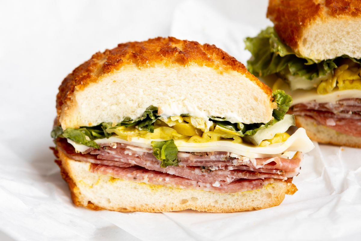 Toscano sandwich from Guerra's