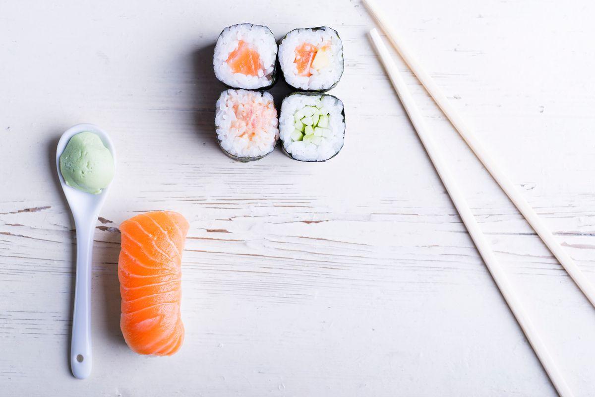 Sushi Nakata in Monrovia.