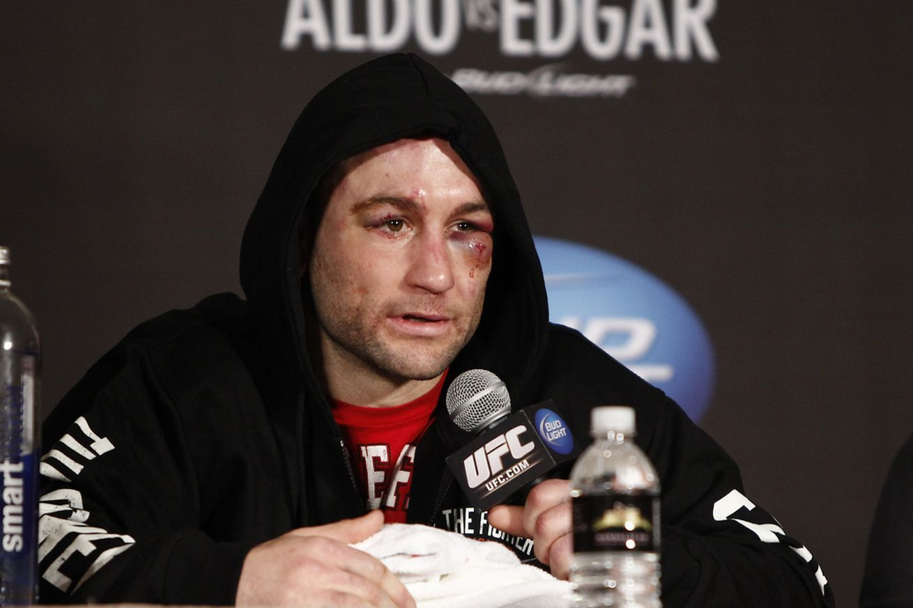Frankie Edgar post presser EL