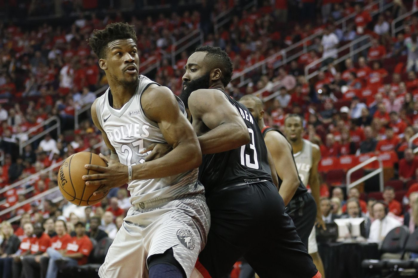 official photos 1a609 d09e6 Woj: Houston Rockets interested in trading for Jimmy Butler ...