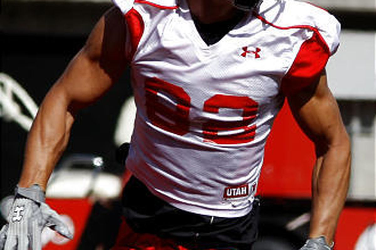 Utah receiver John Peel has been a part of the team for six years, but he has caught only one pass.