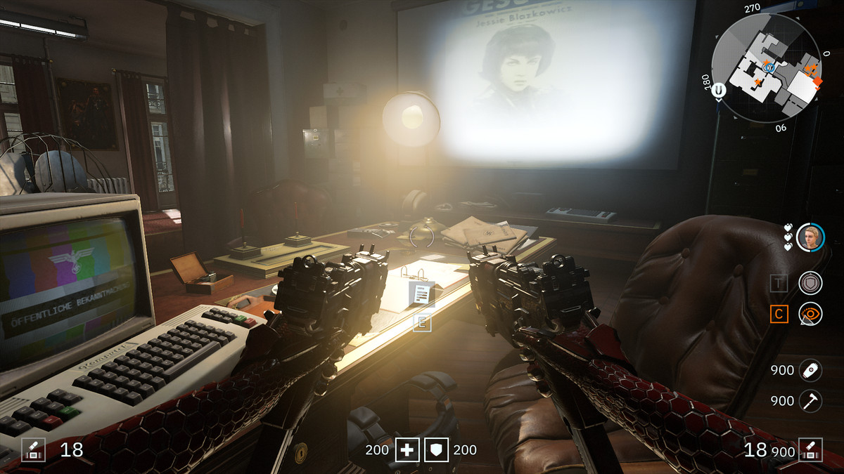 Wolfenstein: Youngblood Readable 50 Hahn's Letter collectibles
