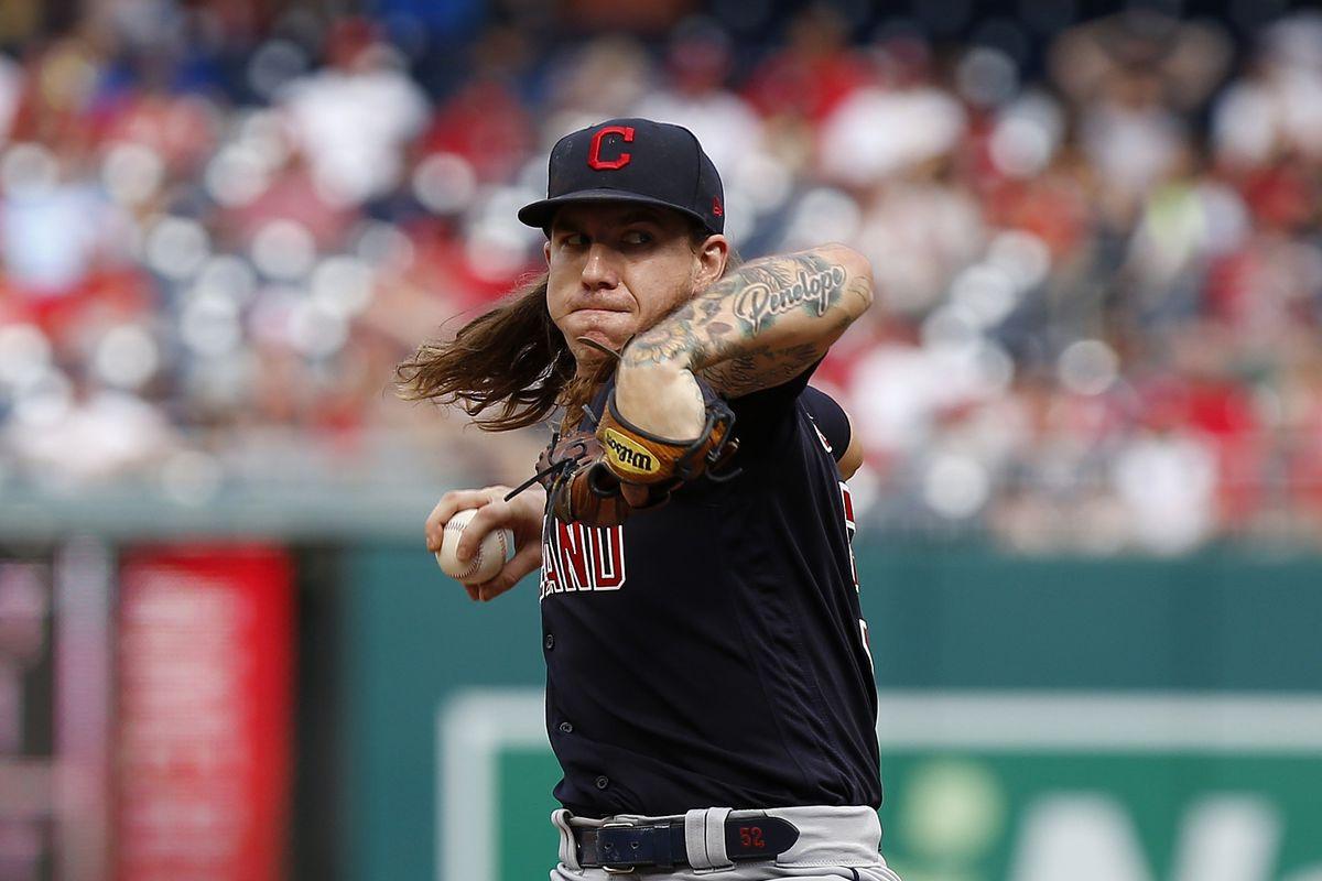 MLB: Cleveland Indians at Washington Nationals