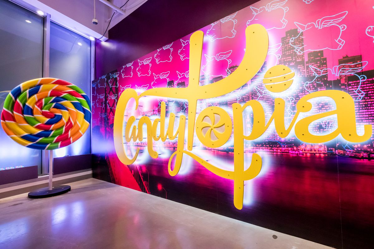 Behold Candytopia, an Enormous Candy Art Exhibit Built for