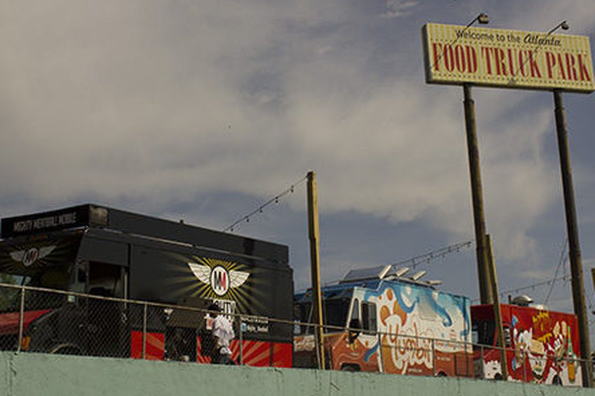 Atlanta Food Truck Park.