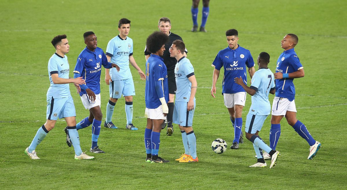 Leicester City v Manchester City - FA Youth Cup Semi Final: Second Leg