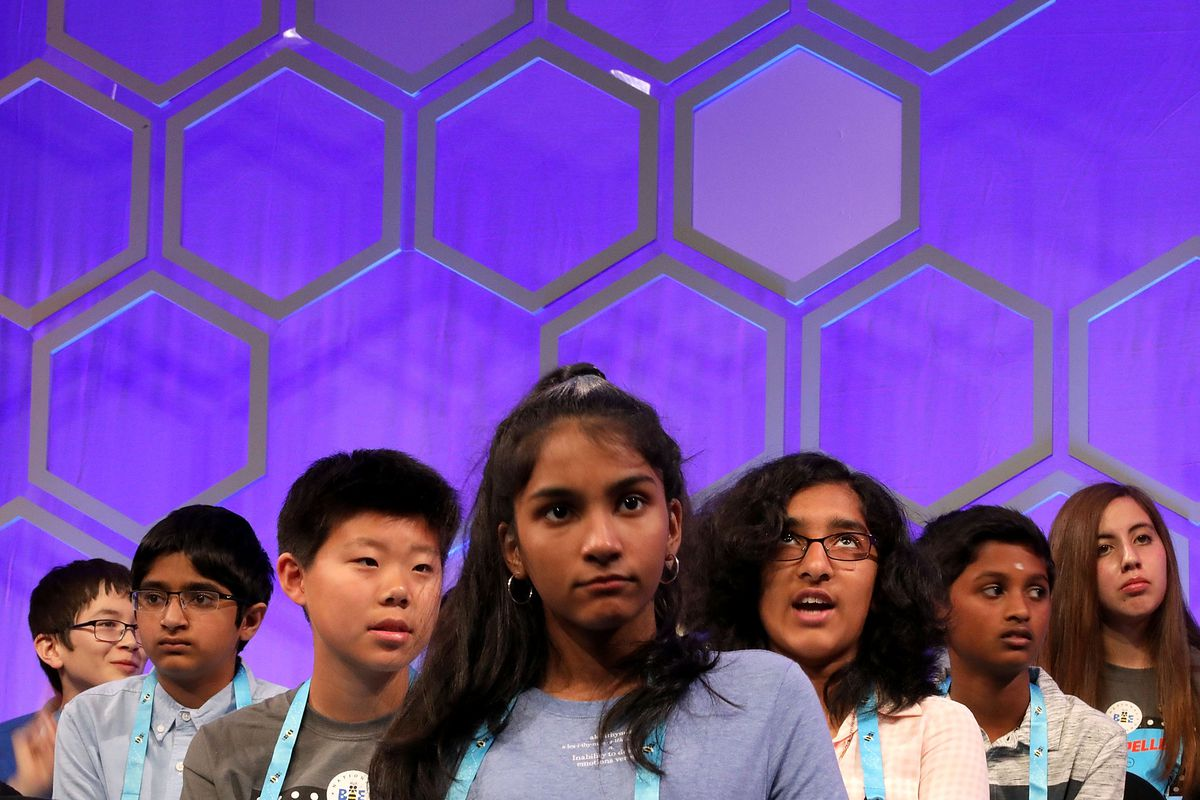 Student Spellers Compete In 2018 National Spelling Bee