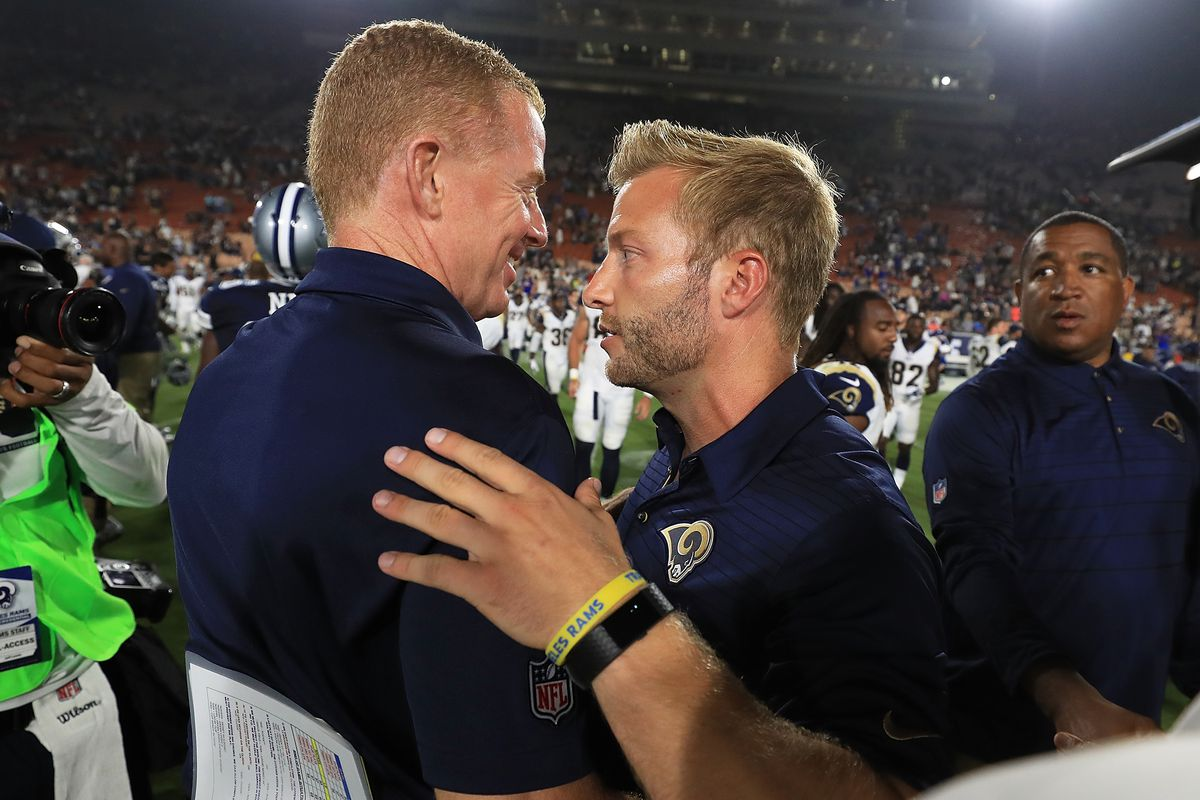 Rams Head Coach Sean Mcvay Pulled A Move In Sunday S Win That Cowboys Fans Have Grown Tired Of Blogging The Boys