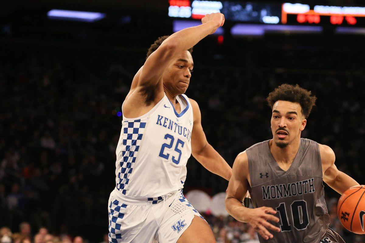 NCAA Basketball: Kentucky vs Monmouth-NJ