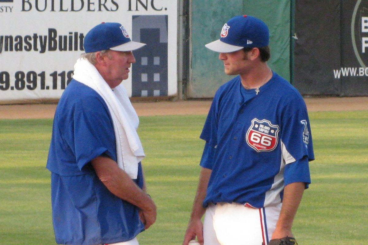 Charlie Hough after four years as Class A pitching coach, is now one of three senior advisors in player development for the Dodgers.
