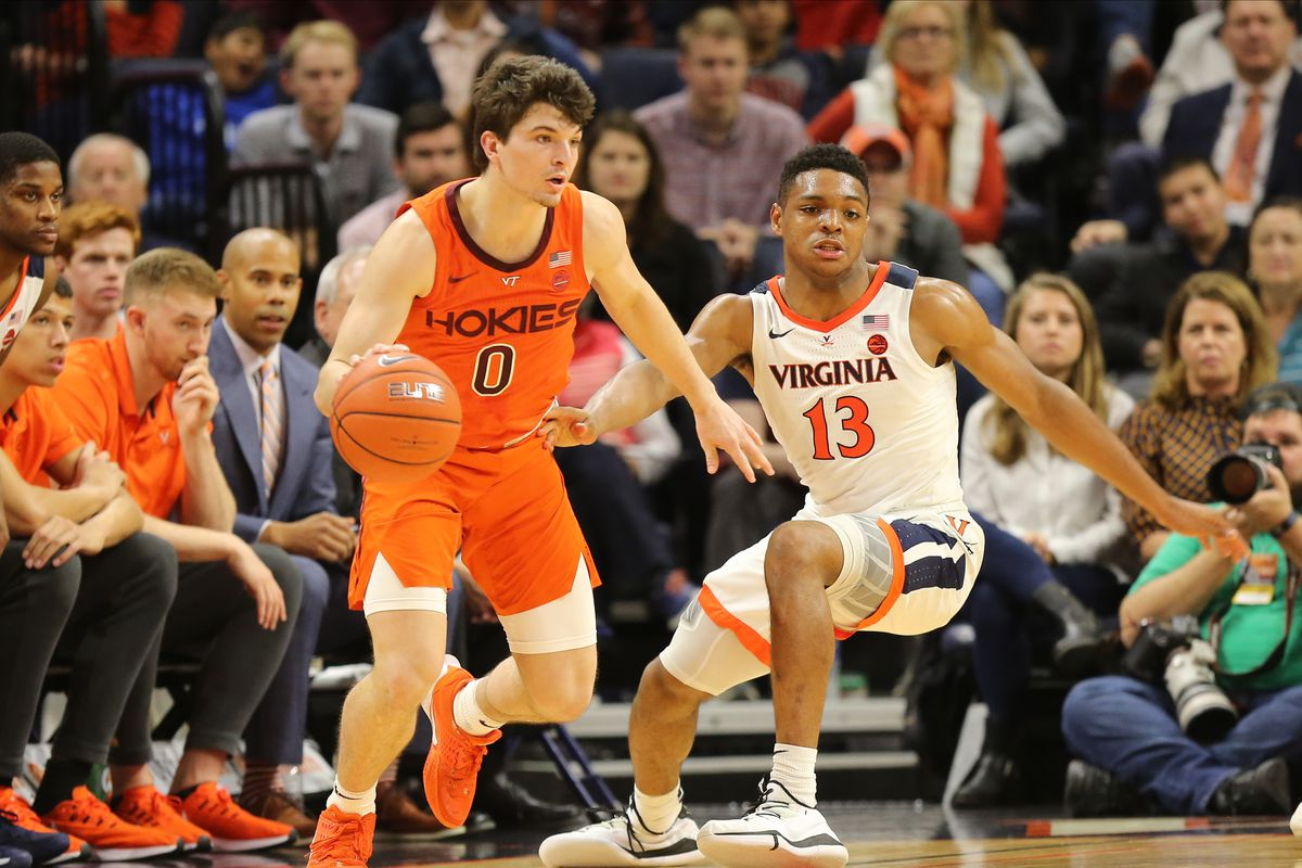 COLLEGE BASKETBALL: JAN 04 Virginia Tech at Virginia