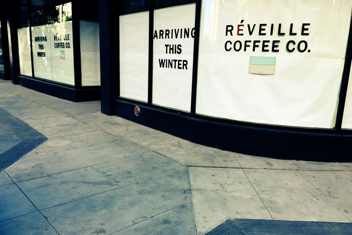 Reveille Coffee Co. is papered up and busy building its new Mission Bay headquarters.