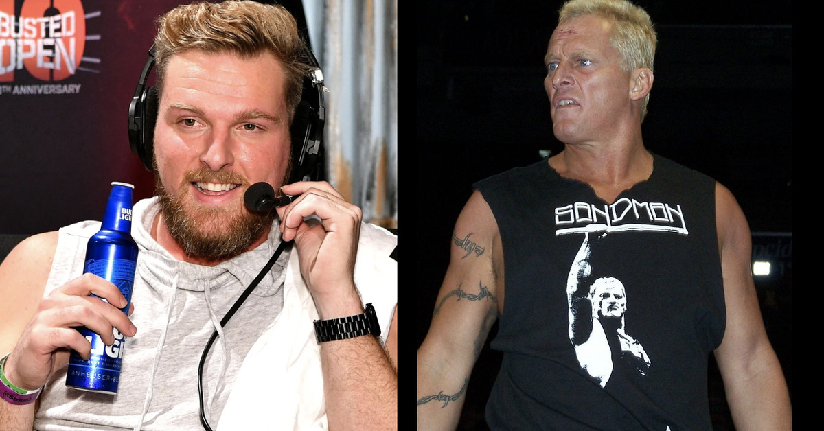 Pat McAfee got Extreme Rules-ready by entering SmackDown like Sandman - Cageside Seats