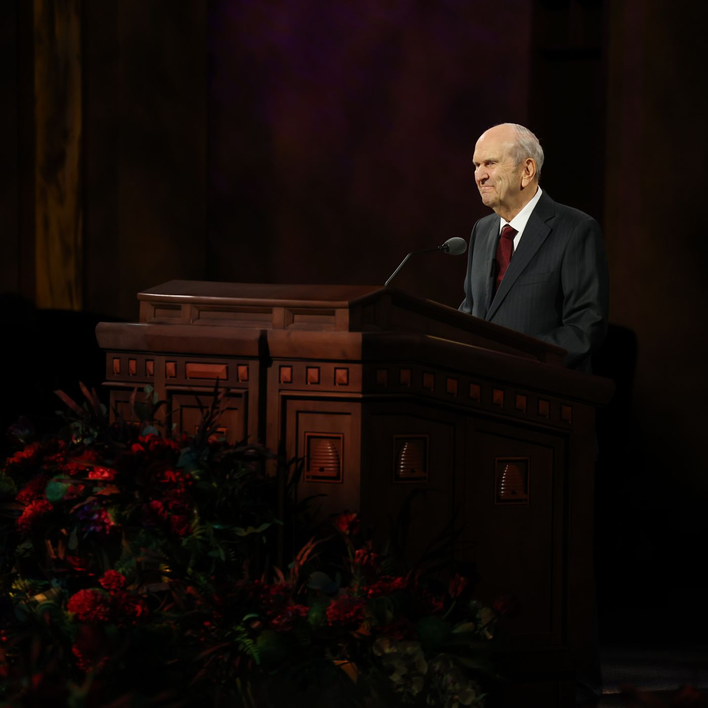 President Nelson Latter Day Saint Leaders Share Conference Talk Footnotes Deseret News